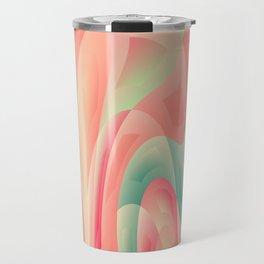 Abstract color harmony Travel Mug