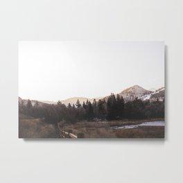 Yellow Mountain Ranch Metal Print