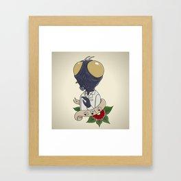 GMO Framed Art Print