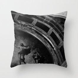 Jesus Christ Ascension Mosaic St Peters Basilica Throw Pillow