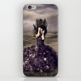 Attached to earth iPhone Skin