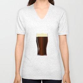Pint Beer Glass Unisex V-Neck