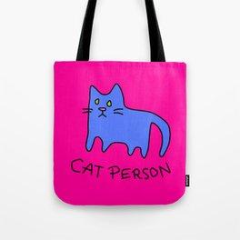 cat person Tote Bag