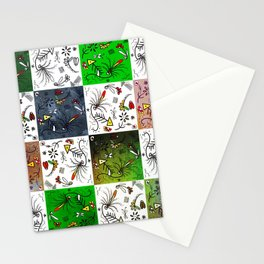 Odd squares Stationery Cards