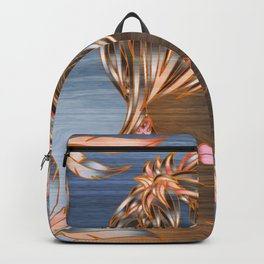 Fashion Short Hair Girl Backpack