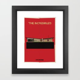 The incredibles Directed by Brad Bird Framed Art Print