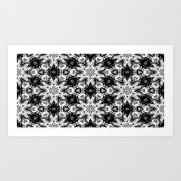 Rorschach Test Pattern Art Print