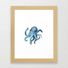 Blink the Octopus Framed Art Print