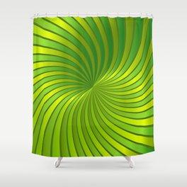 Spiral Vortex G319 Shower Curtain