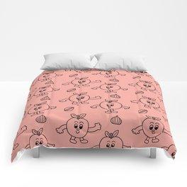 Happy Apples Comforters