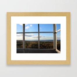 Grafton Fire Tower View Framed Art Print