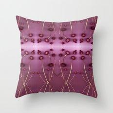 Purple Chia Throw Pillow