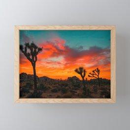 Joshua Tree Parc National Framed Mini Art Print