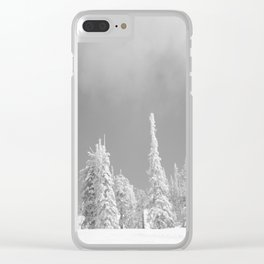 Winter day 6 Clear iPhone Case