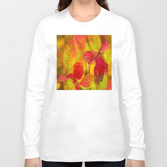 Red autumn leaves Long Sleeve T-shirt