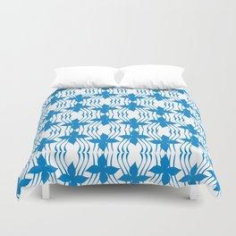 Bluewave Pinwheel Duvet Cover