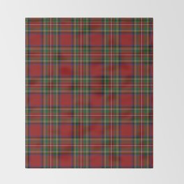 The Royal Stewart Tartan Throw Blanket