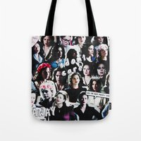 peggy carter Tote Bags featuring Peggy Carter Sass by Long live the Evil Queen♔