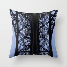 Eiffel Tower - Detail Throw Pillow