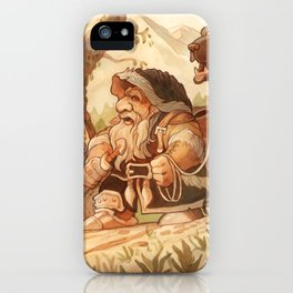 Dwarfen merchant iPhone Case