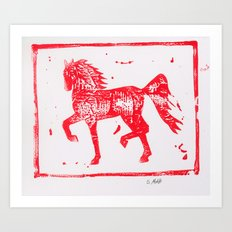 2014 Year of the Horse 2 Art Print