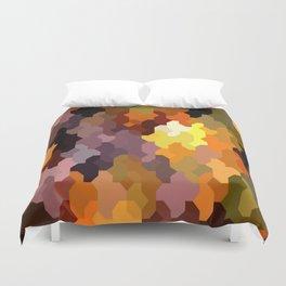 Puzzled Duvet Cover