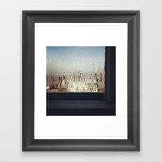 The Window Sill Framed Art Print