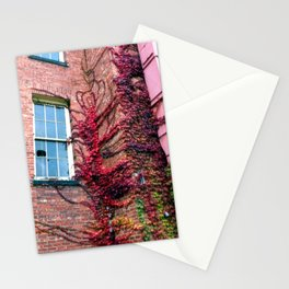 Asylum Leaves 2 Stationery Cards