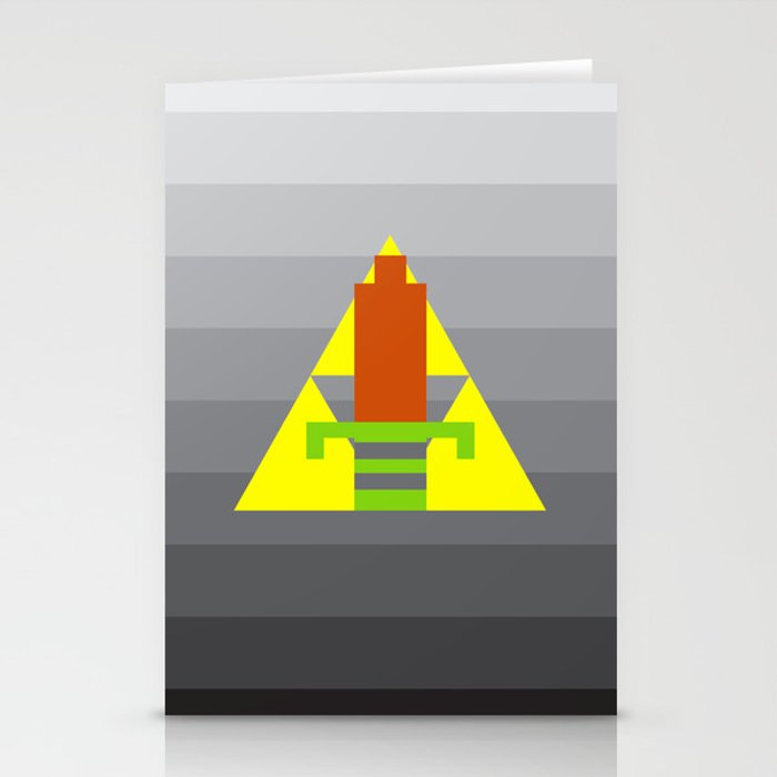 8-Bit Hero Stationery Cards