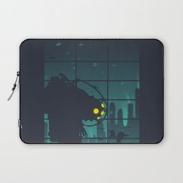 bioshock big daddy Laptop Sleeve