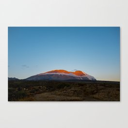 Mt. Kilimanjaro Canvas Print