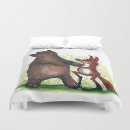 Bear & Fox Duvet Cover