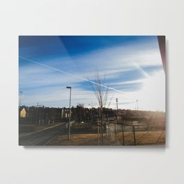 Sunshine in the morning  Metal Print