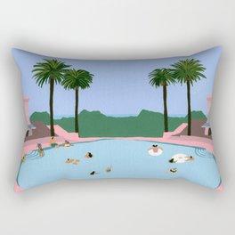 Welcome to Miami Rectangular Pillow