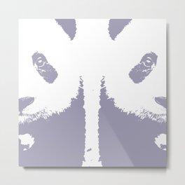 Double Panda Metal Print