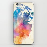 stag iPhone & iPod Skins featuring Sunny Leo   by Robert Farkas