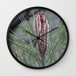 Blossoming Pine Wall Clock