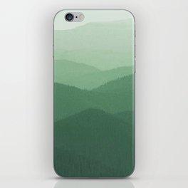 Hunter Mountain summer iPhone Skin