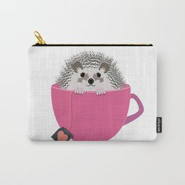 Valentine Heart Hedgehog Carry-All Pouch