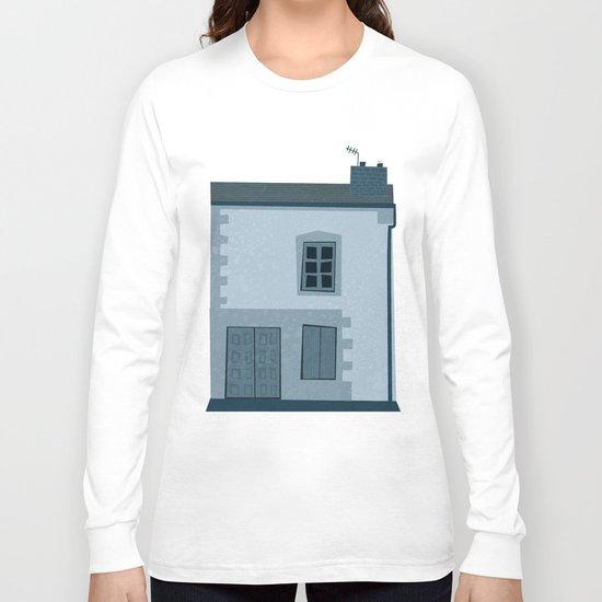 La maison et l'oiseau Long Sleeve T-shirt