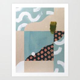 Marmalade Marbles I Art Print