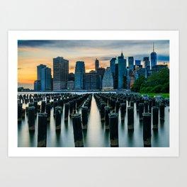 New York, New York 3 Art Print
