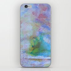 Words and Water Paint 3 iPhone & iPod Skin