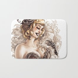 Burlesque Bath Mat