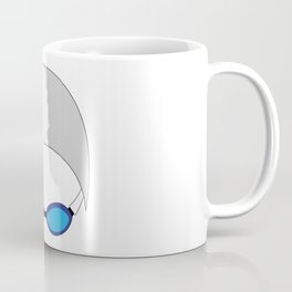 Swim Cap and Goggles Coffee Mug