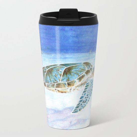 Sea turtle Metal Travel Mug