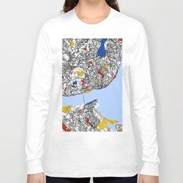 Lisbon mondrian Long Sleeve T-shirt