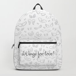 Wings for love Backpack