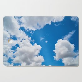 Clouds 3 Cutting Board