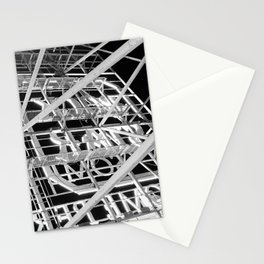 Hollywood Rooftop Sign, Los Angeles, USA Stationery Cards
